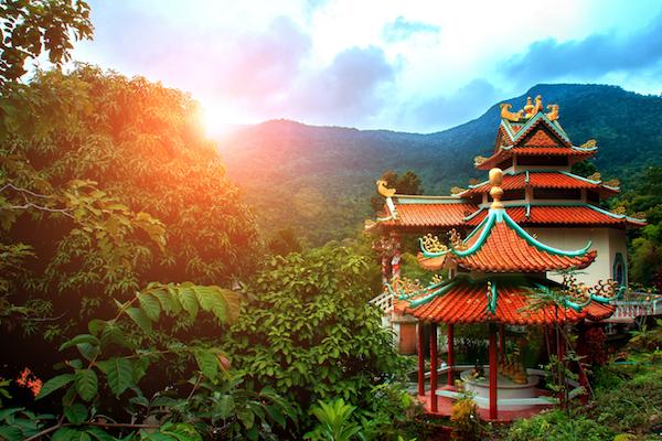 תמונה של מקדש סיני באי קופנגן
